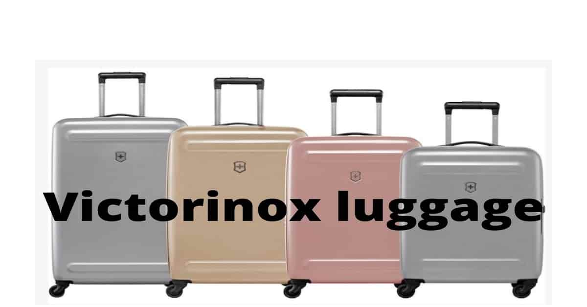 victorinox luggage riviews