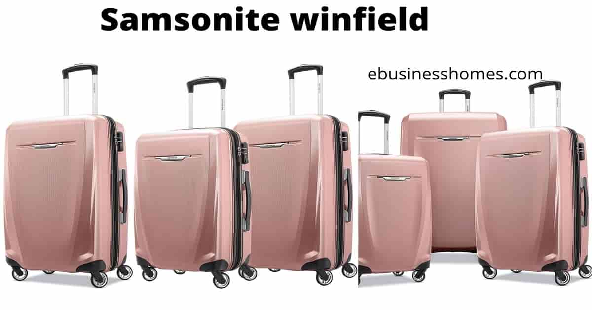 samsonite winfield 3 review
