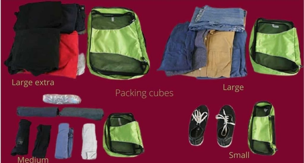 how to use a packing cube