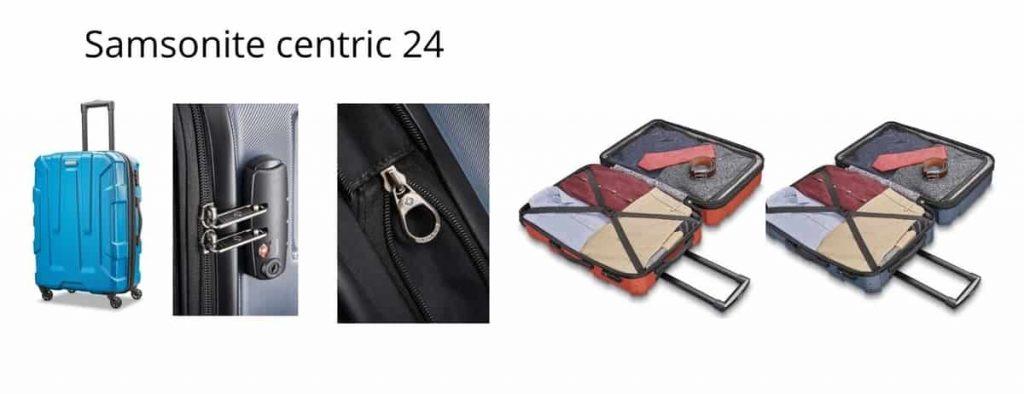 samsonite centric 24 spinner